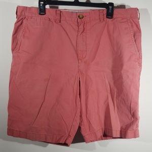 Tommy Hilfiger Men's 38 Shorts Salmon Twill Chino